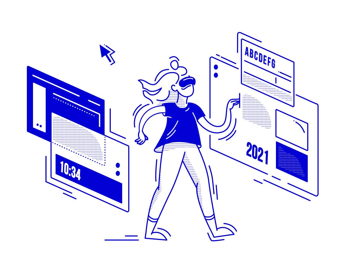 Тренды UI дизайна 2021